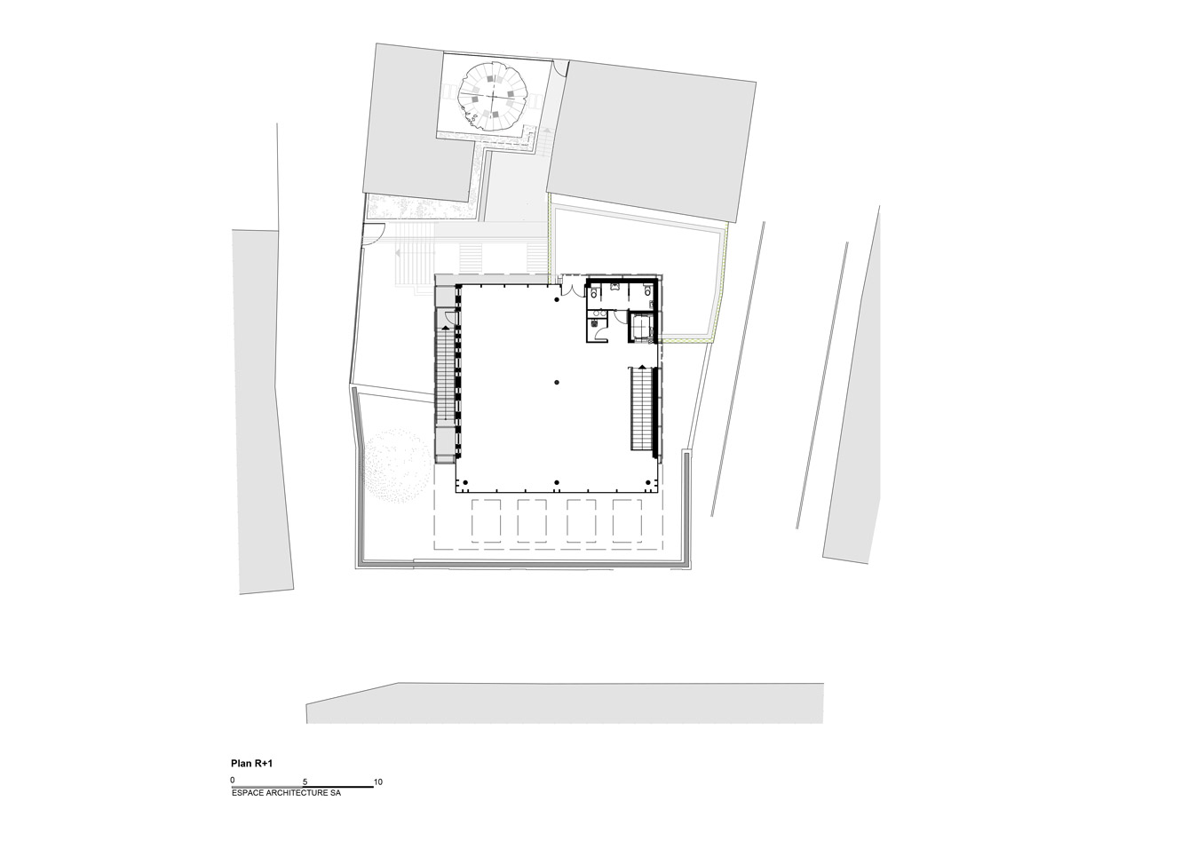Mediatheque-Faulquemont_Plan-R+1