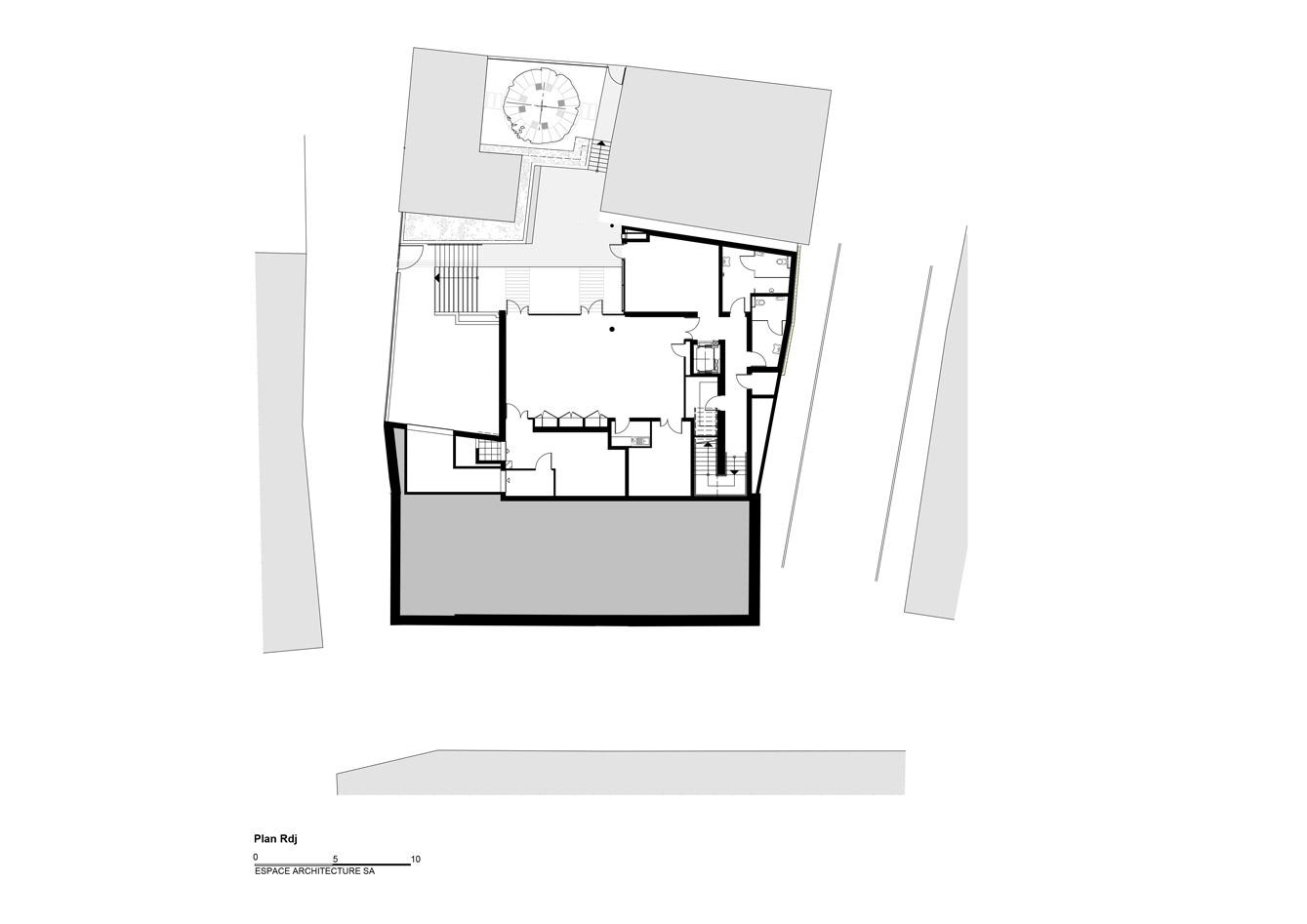 Mediatheque-Faulquemont_Plan-RdJ