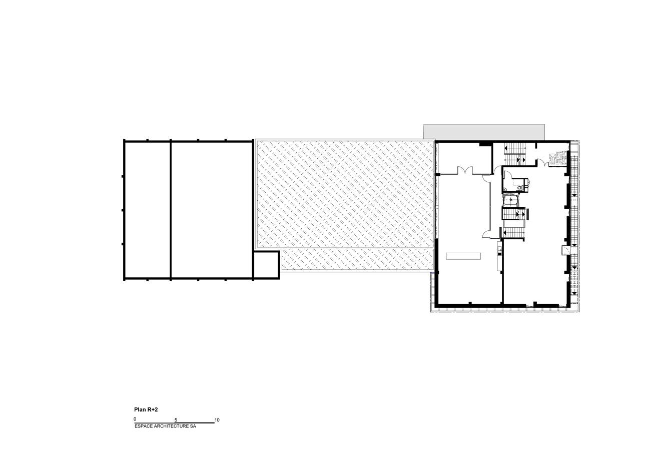 Mediatheque-Freyming_Plan-R+2