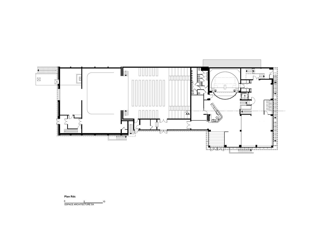 Mediatheque-Freyming_Plan-RdC